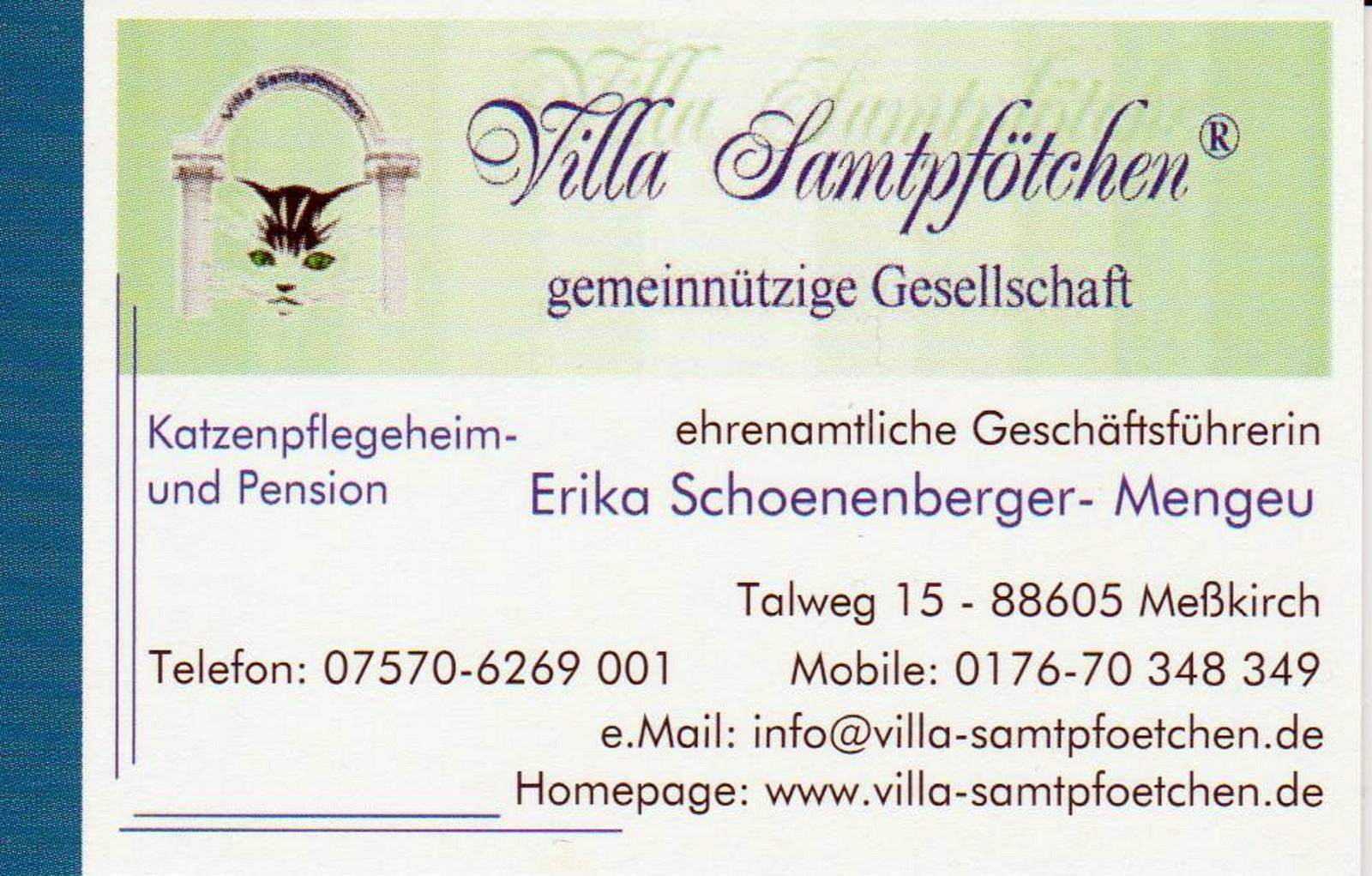 Villa Samtpfötchen