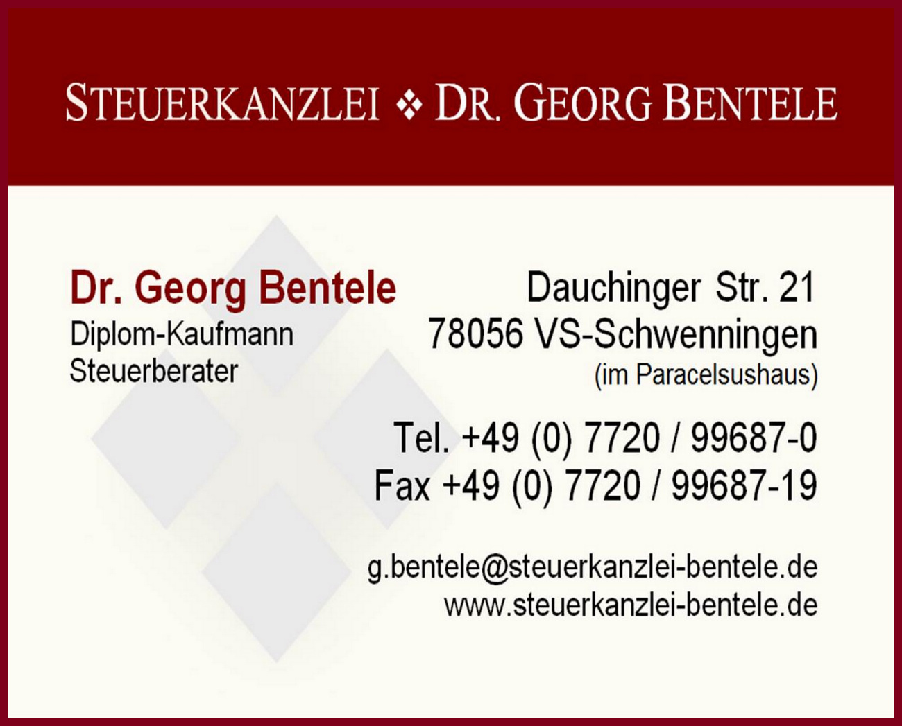 Steuerkanzlei Dr. Georg Bentele