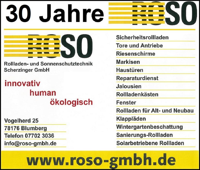ROSO Firma Scherzinger